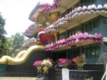 Temple in Sri Lanka royalty free stock photo