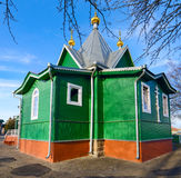The temple in St. Afanasievskiy Monastery, Brest, Belarus Royalty Free Stock Photography