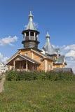 Temple of St. Agapito Markushevski in village Nyuksenitsa, Vologda Region Royalty Free Stock Photography