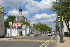 Temple of St. Catherine the Great Martyr Royalty Free Stock Photography