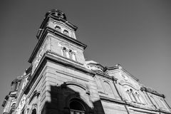 Temple St. Cyril and Methodius Burgas stock photography