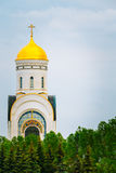 Temple of St. George on Poklonnaya Hill In Moscow Royalty Free Stock Photography