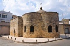 Temple of St. Lorenzo. Mesagne. Puglia. Italy. Royalty Free Stock Photos