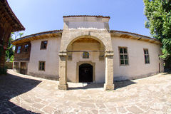 Temple of St. Nicholas in the Bulgarian village of Zheravna Royalty Free Stock Photography