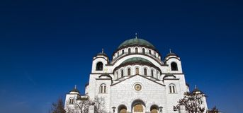 Temple of St. Sava Royalty Free Stock Photo