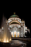 Temple of St Sava Stock Photo