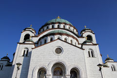 Temple of St. Sava Stock Images