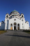 Temple of St. Sava Royalty Free Stock Images