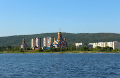 Temple of St. Seraphim of Sarov, Zelenogorsk stock images