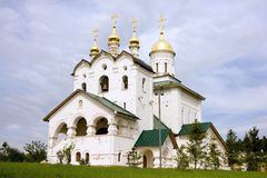 The temple of St. Sergius of Radonezh village velencoso Stock Photo