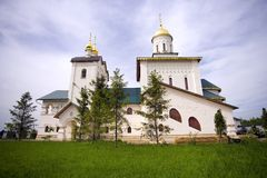 The temple of St. Sergius of Radonezh village velencoso Stock Photos