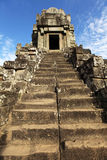 Temple stairs at Angkor wat, Cambodia Stock Image