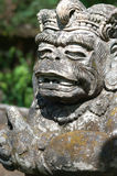 Temple Statue Carving - Bali Royalty Free Stock Image