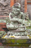 Temple Statue Carving - Bali Stock Photo