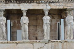Temple Statues Royalty Free Stock Photography