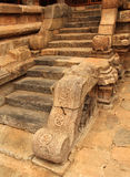 Temple steps Stock Images