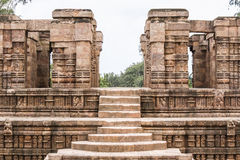 Temple Steps in Konark Royalty Free Stock Image