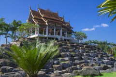 The temple on stones. Royalty Free Stock Photos