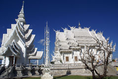 Temple and stupa Stock Image