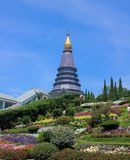 The Temple. Stupa in the temple of Thailand Stock Photos
