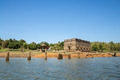 Temple submergé Photographie stock libre de droits