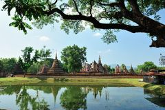 Temple in Sukhothai Stock Photos