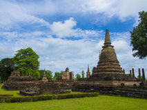 Temple. Sukhothai historical Temple of Thailand Royalty Free Stock Photos