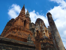 Temple. Sukhothai historical Temple of Thailand Stock Photo