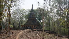 Temple in sukhothai national park Stock Photos