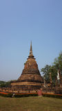 Temple in sukhothai national park Stock Photo
