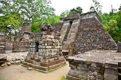 Temple Sukuh-Indou érotique antique de Candi sur Java, Indonésie image stock