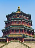 Temple in Summer Palace stock photography