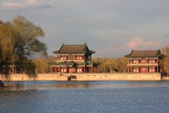 Temple in the summer palace,beijing Stock Image