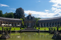 The Temple of the sun - Hermitage Bayreuth Stock Photography