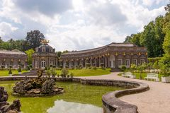 The Temple of the sun - Hermitage Bayreuth Stock Image