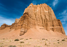 Temple Of The Sun and Moon. Cathedral Valley, Capitol Reef National Park, Utah royalty free stock photos