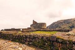 Temple Of The Sun, Ruins Of Ingapirca, Ecuador Stock Images