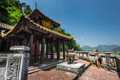 Temple at sunny day Stock Image