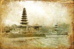 Temple sur Bali Photos libres de droits