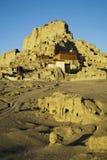 Temple sur des montagnes Photo libre de droits