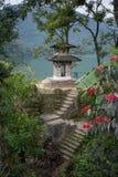 Temple sur la montagne Photographie stock libre de droits