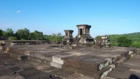 Temple sur le composé de palais de boko de ratu Image stock