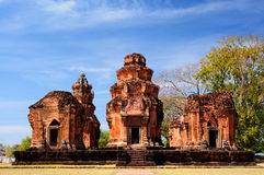 Temple of Surin,Thailand. Travel in Sikhoraphum,surin,Thailand Royalty Free Stock Image