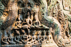 Temple Ta Prohm Royalty Free Stock Photography