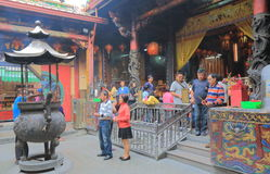 Temple Tainan Taïwan de Tian Tan Images libres de droits