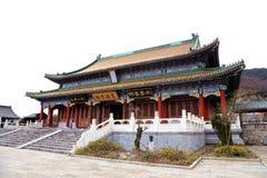 The temple of  Tainmem mountain in Zhangjiajie city Stock Photo