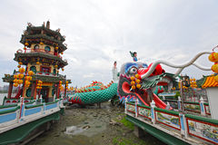 Temple in Taiwan. Traditional Chinese temple in Taiwan Royalty Free Stock Photo