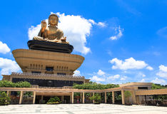 Temple in Taiwan. This photo was taken on June, 2016 in Kaohsiung, Taiwan. Believe it or not, there are as many as 5000 temples throughout Taiwan, ranging in royalty free stock image