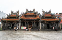 Temple in Taiwan royalty free stock photos