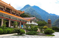 Temple in Taiwan Royalty Free Stock Images